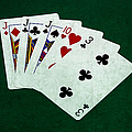 Poker Hands - Three Of A Kind 3 by Alexander Senin
