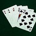 Poker Hands - Three Of A Kind 4 by Alexander Senin