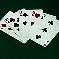 Poker Hands - Two Pair 4 by Alexander Senin