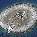 Pokonji Dol Lighthouse From Air by Shu Fu