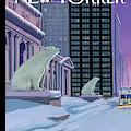 Polar Bears On Fifth Avenue by Bruce McCall