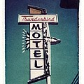 Polaroid Transfer Motel by Jane Linders