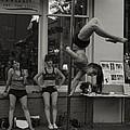 Charolottesville Acrobats by Gary Rieks
