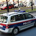 Police Car In Vienna by Frank Gaertner
