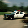 Police Car by Jerry McElroy