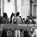 Police Line 1990s by John Rizzuto