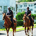 Police - Two Mounted Police by Susan Savad
