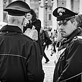 Policemen In Rome by Pablo Lopez