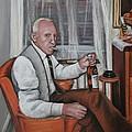 Polish Grandfather by Melinda Saminski