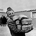 Polish Youngster With Bread Made by Everett