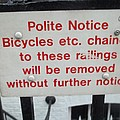 Polite Warning by James Potts