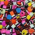 Polka Dot Colorful Candy by Barbara Griffin