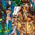 Polo Player by Lisa Owen-Lynch