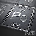 Polonium Chemical Element by Science Picture Co