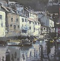 Polpero Cornwall England by Derek Williams