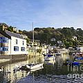 Polperro Cornwall England by Colin and Linda McKie