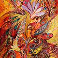 Polyptich Part IIi - Fire by Elena Kotliarker