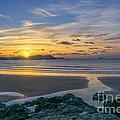 Polzeath Sunset 3 by Chris Thaxter