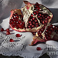 Pomegranate  Seed by Luv Photography