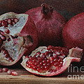 Pomegranate Seeds by Luv Photography