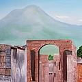 Pompeii And Vesuvius   by Misuk Jenkins