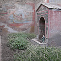 Pompeii Dry Fountain by Deborah Smolinske