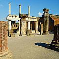 Pompeii In Ruins by Phill Petrovic