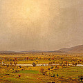 Pompton Plains. New Jersey by Jasper Francis Cropsey