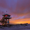 Ponce Inlet Beach Guard Tower by Stefan Mazzola