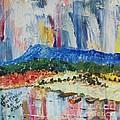 Pond By Massanutten Peak - Sold by Judith Espinoza