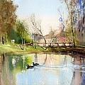 Pond by Vladimir Tuporshin