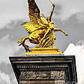 Pont Alexander IIi Fragment In Paris by Elena Elisseeva