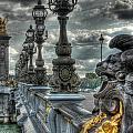 Pont Alexandre IIi  by Michael Kirk
