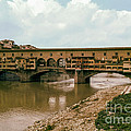 Pont De Vecchio On The Arno by Bob Phillips