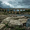 Pont-du-gard by Oleg Koryagin