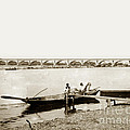pont George V Bridge over Loire river Orleans Loire Valley France 1900 by California Views Archives Mr Pat Hathaway Archives