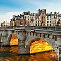 Pont Neu - Paris  by Luciano Mortula