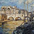 Pont Neuf Paris by Irek Szelag