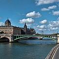 Pont Notre Dame by Paris  France