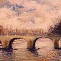Pont Sur La Seine by Walter Casaravilla