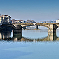 Ponte Santa Trinita Florence Italy by Gary Eason
