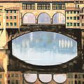 Ponte Vecchio A Firenze by Guido Borelli