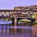 Ponte Vecchio Bridge - Florence by Jon Berghoff