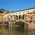 Ponte Vecchio Bridge In Florence by Jaroslav Frank