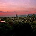 Ponte Vecchio by David Lange