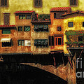Ponte Vecchio Firenze by Mike Nellums