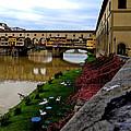 Ponte Vecchio Florence Italy by David Coblitz
