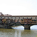 Ponte Vecchio I by Christiane Schulze Art And Photography