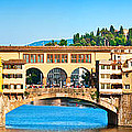 Ponte Vecchio In Florence by JR Photography
