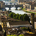 Ponte Vecchio Late Afternoon by Jon Berghoff